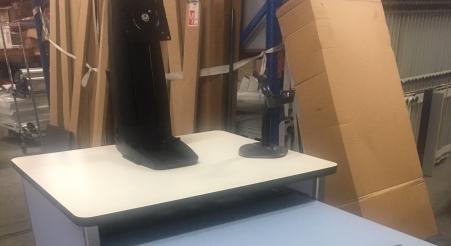 ארונית מחשב ניידת עבור בית חולים תל השומר