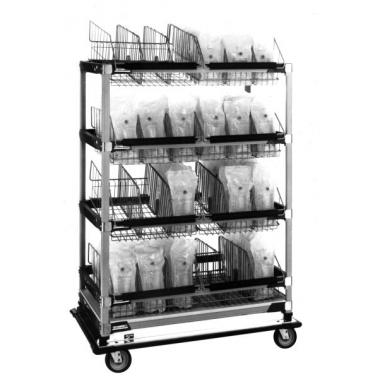 עגלת נוזלים ותמיסות IV Cart
